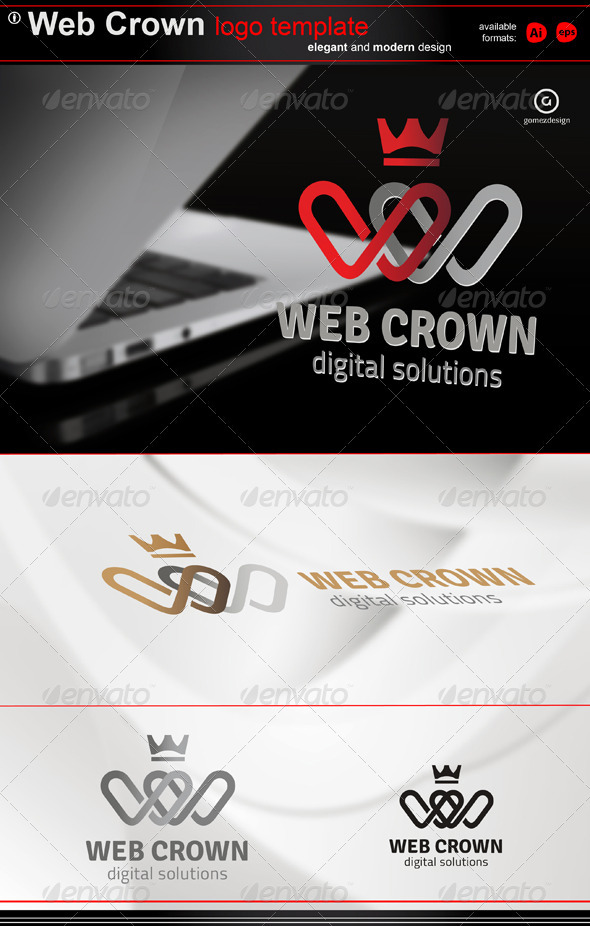 Web Crown - Logo Templates