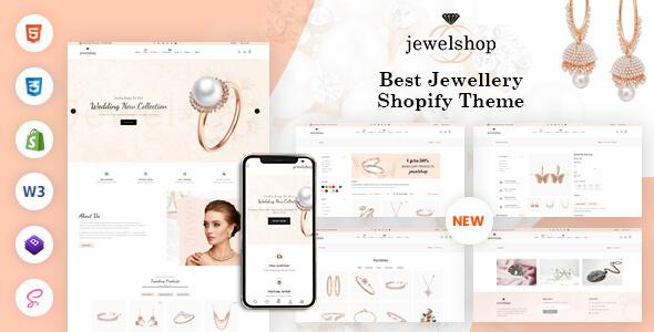 jewelshop - Jewelry Responsive Shopify Theme