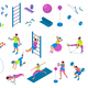 Fitness Equipment Set