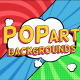 Pop Art Backgrounds - VideoHive Item for Sale