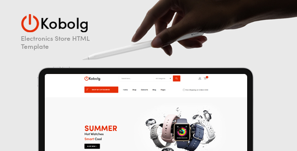Kobolg - Electronics Store HTML Template