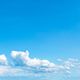 Panoramic fluffy cloud in the blue sky-6 - PhotoDune Item for Sale