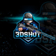 Sniper Logo For Mobile Game