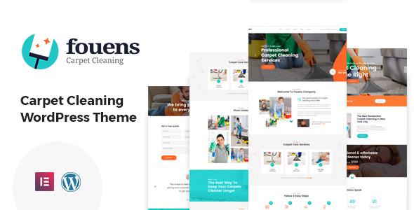 Fouens - Carpet Cleaning WordPress Theme