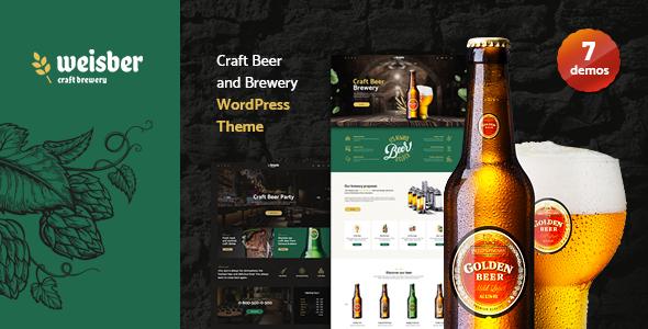 Special Weisber - Craft Beer & Brewery WordPress Theme