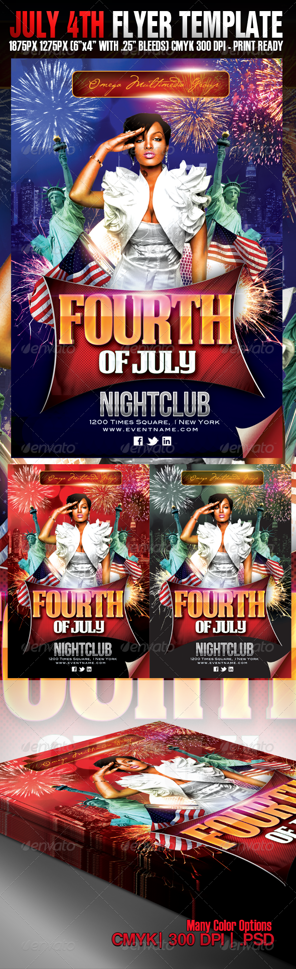 July 4th Independence Party - Clubs & Parties Events
