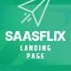 Saasflix SaaS Software Landing Page Template