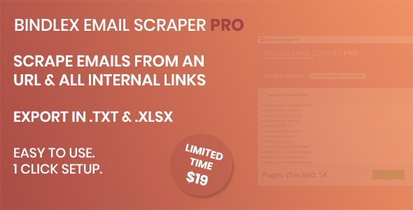 Bindlex Email Scraper PRO