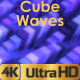 Colourful Cube Waves - VideoHive Item for Sale