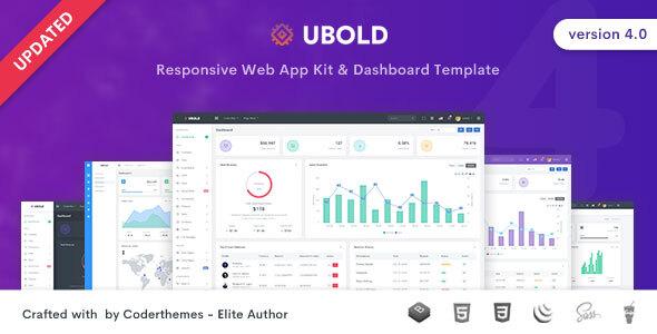 Ubold - Admin & Dashboard Template