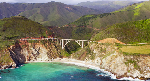California, Pacific coast