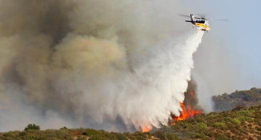 Wildfires, California, USA