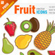 16 Fruit icons - GraphicRiver Item for Sale