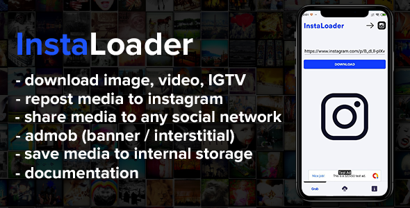 Insta Loader - download media from instagram