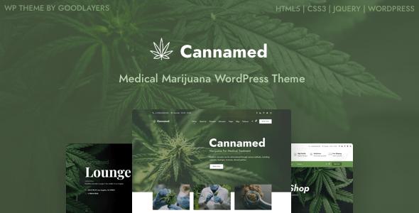 Cannamed – Cannabis & Marijuana WordPress