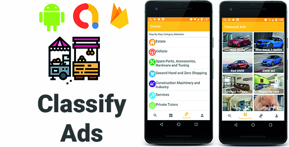 Classify Ads | Full Android Application