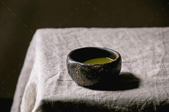 Japanese matcha green tea - Stock Photo - Images