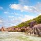 Rock's beach in Seyshelles - PhotoDune Item for Sale