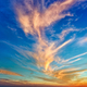 Beautiful sunset with magical clouds - PhotoDune Item for Sale