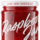 Raspberry Jam Jar #6 Mockup