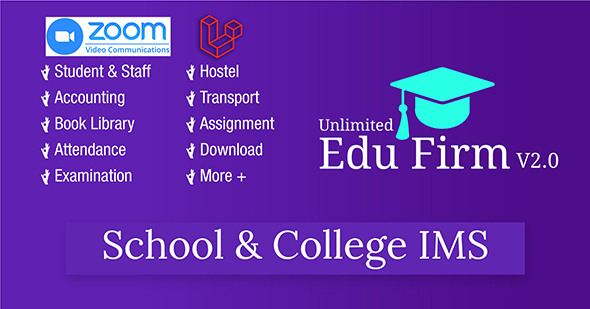Unlimited Edu Firm School & College Information Management System