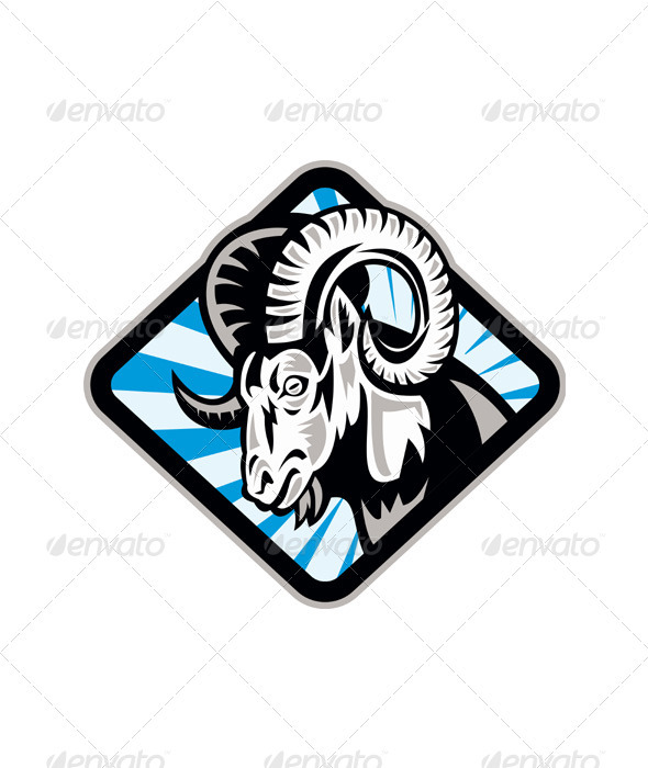 Bighorn Ram Sheep Goat - Animals Characters