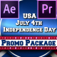 July 4th USA Patriotic Broadcast Promo Pack - Premiere Pro - VideoHive Item for Sale