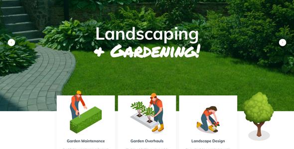 Acacio Landscaping Gardening Wordpress By Fox Themes Themeforest