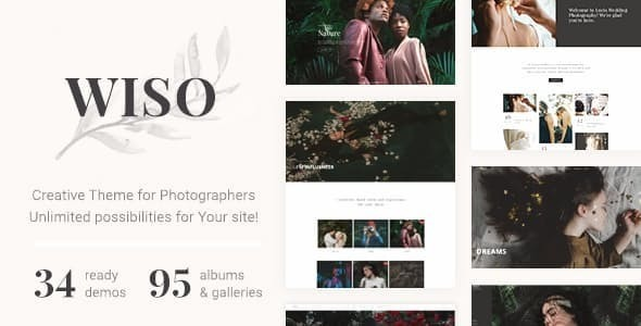 WISO - Photography HTML Template