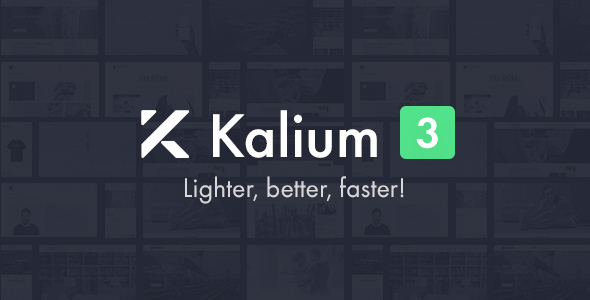 Wondrous Kalium - Creative Theme for Professionals