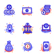 Banking & Finance Vector Icons