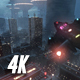 Replicant City - The Arrival (4K) - VideoHive Item for Sale