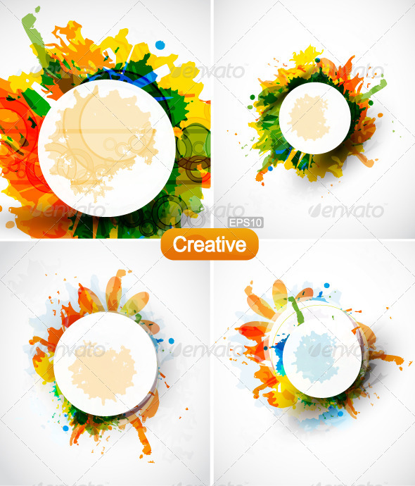 Creative Art Backgrounds - Backgrounds Decorative