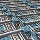 Light blue shopping carts - PhotoDune Item for Sale