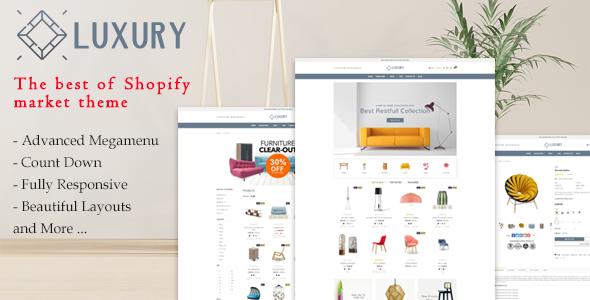 Luxury Furniture – Responsive Shopify Theme