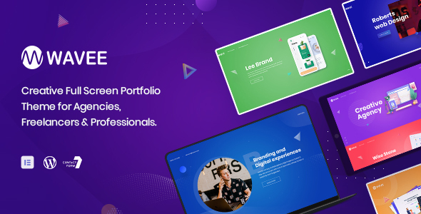 Wavee - Creative Portfolio WordPress Theme