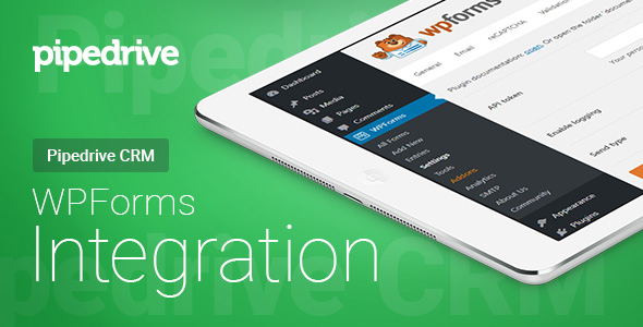 WPForms - Pipedrive CRM - Integration