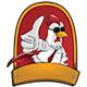 Chicken Boss Vector Label