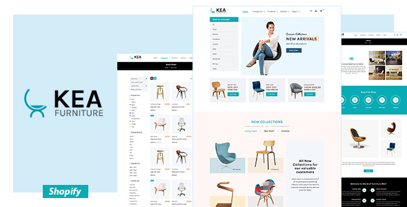 Kea - Furniture Shopify Theme