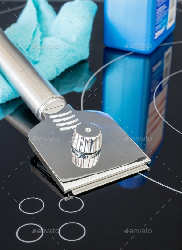 Cooker Cleaning Materials - Stock Photo - Images