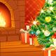 Festive Christmas Interior - GraphicRiver Item for Sale