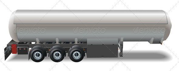 Tanker Car - Man-made Objects Objects