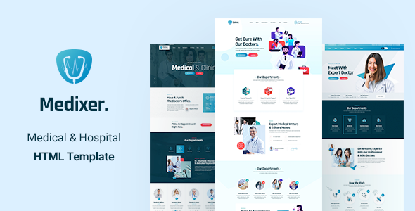 Medixer - Medical and Health HTML5 Template