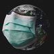 Planet earth with surgical mask. - PhotoDune Item for Sale