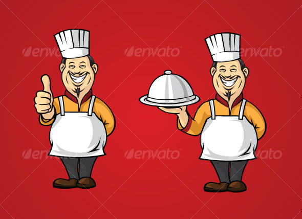 asian chef - People Characters