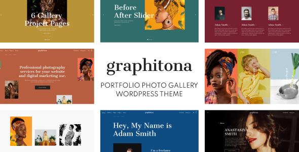 Download Graphitona – Portfolio Photo Gallery WordPress Theme Free Nulled