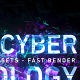 Digital Cyber Technology Logo Reveal. 8 Color Presets. - VideoHive Item for Sale