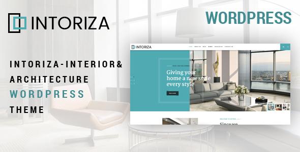 Intoriza - Interior Architecture WordPress Theme