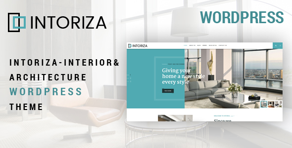 Download Intoriza – Interior Architecture WordPress Theme Free Nulled