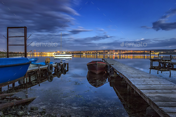 city lights - Stock Photo - Images